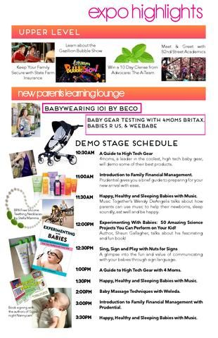 #TheMamasExpo #baby gallery schedule