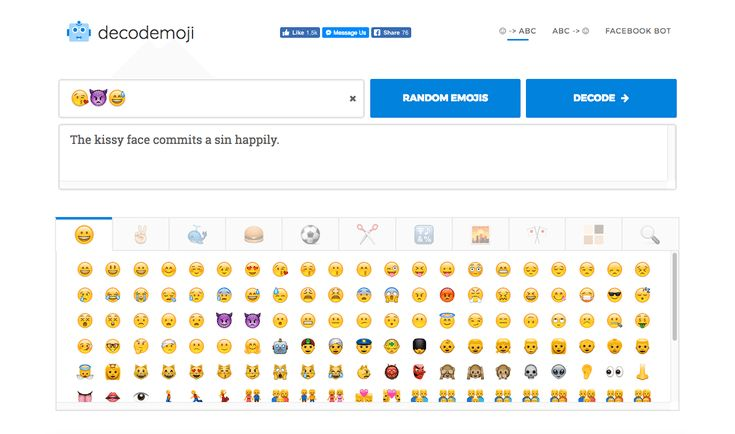 What Does That Emoji Mean? These Websites and App Translate Emoji Messages: Decodemoji