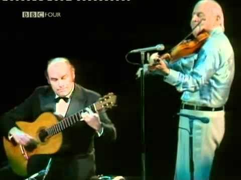The great violinist Grappelli playing one of Django's compositions. He played regularly with Django years before.