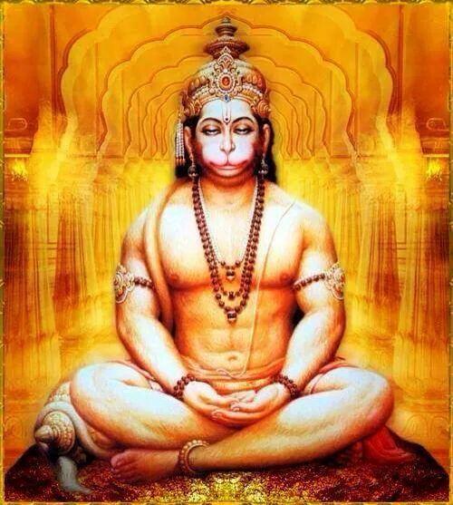 ram and hanuman meet krishna