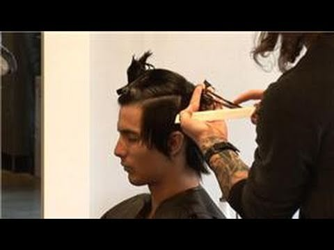 Hair Care Advice for Men : How Do I Cut Shag Haircuts for Men? - YouTube