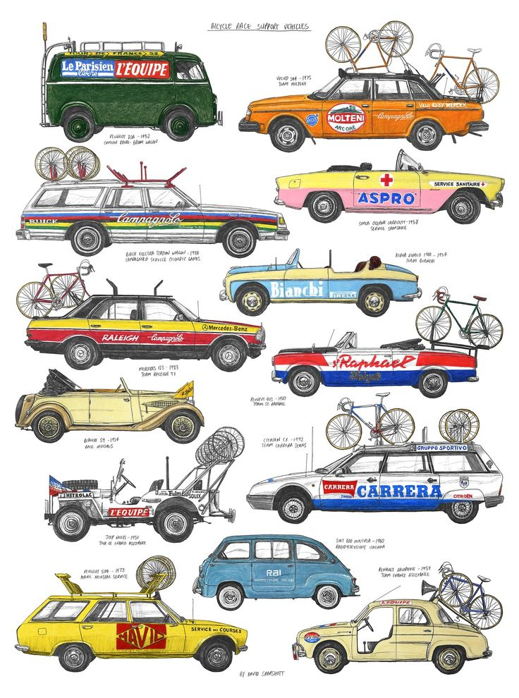 Bicycle Graphic Design; the Vanagon is the best.