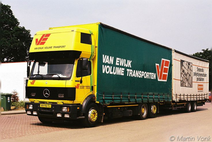 Mercedes SK 2433 volume transport van Ewijk Wijchen Holland