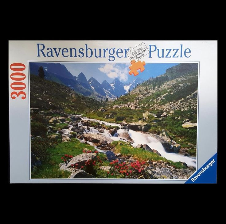 Ravensburger 3000 Piece Jigsaw Puzzle Austrian Mountains