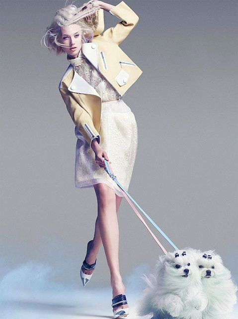 {fashion inspiration | editorial: a study in pastel} by {this is glamorous}, via Flickr