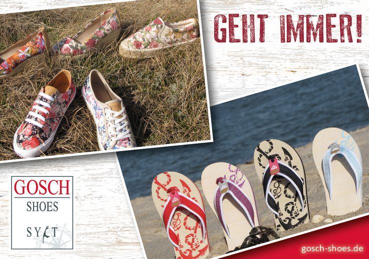 Kollektion Frühjahr-Sommer › Gosch Shoes #goschshoes #sommer #sylt