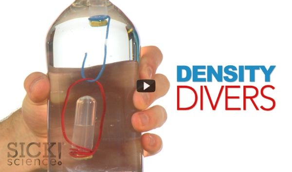 Density Divers Sick Science! Experiment from Steve Spangler Science
