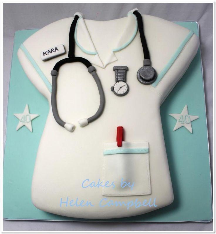 Nurse's Uniform Cake