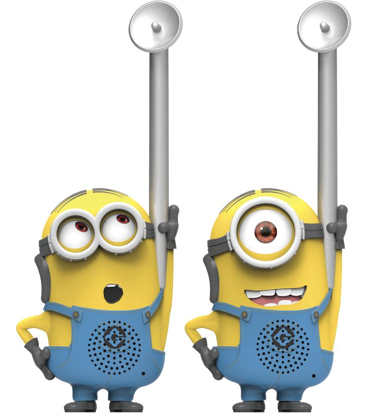 Despicable Me Minions - Eye-Conic FRS 2-Way Radios