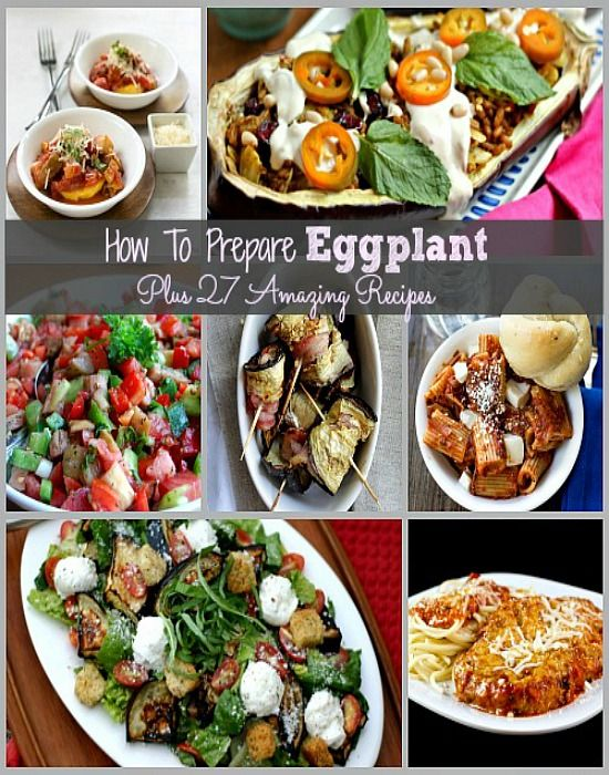 How To Prepare Eggplant Plus 27 Amazing Recipes . Great tips for preparing eggplant plus amazing recipes, do not be afraid of eggplant, it is easy to use!
