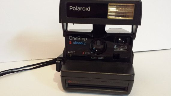 Vintage Polaroid One Step Close-Up 600 Instant by ALEXLITTLETHINGS