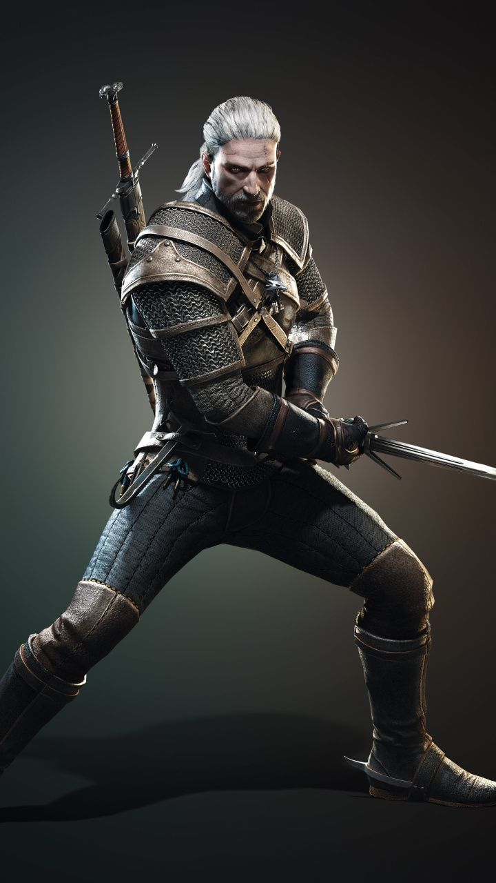 Video Game Character Geralt Of Rivia The Witcher 3 Wild Hunt 720x1280 Wallpaper The Witcher The Witcher Game The Witcher 3