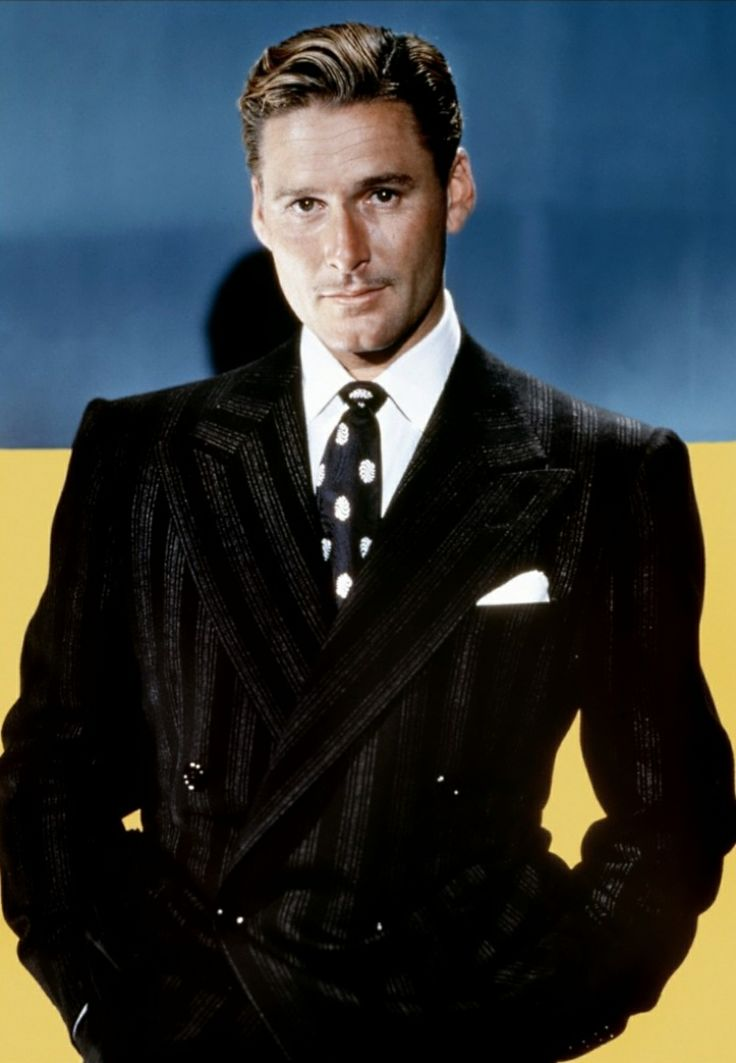 """The public has always expected me to be a playboy, and a decent chap never lets his public down."" - Errol Flynn"