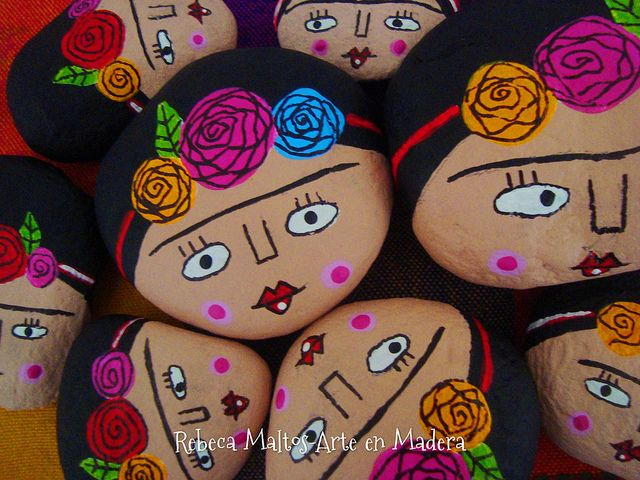 Frida Kahlo Piedras | Explore rebeca maltos photos on Flickr… | Flickr - Photo Sharing!