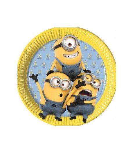 NEW in store! The Minions verjaardag borden uit de collectie: The Minions Lovely - Te koop bij Feestwinkel Altijd Feest.