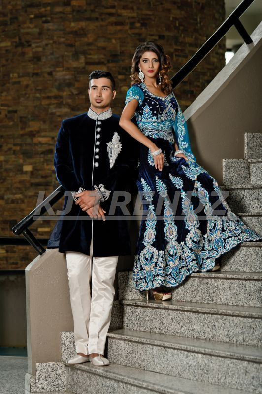 ON YOUR WEDDING BE THE PRESENCE OF ROYALTY WHILE WEARING VELVET.