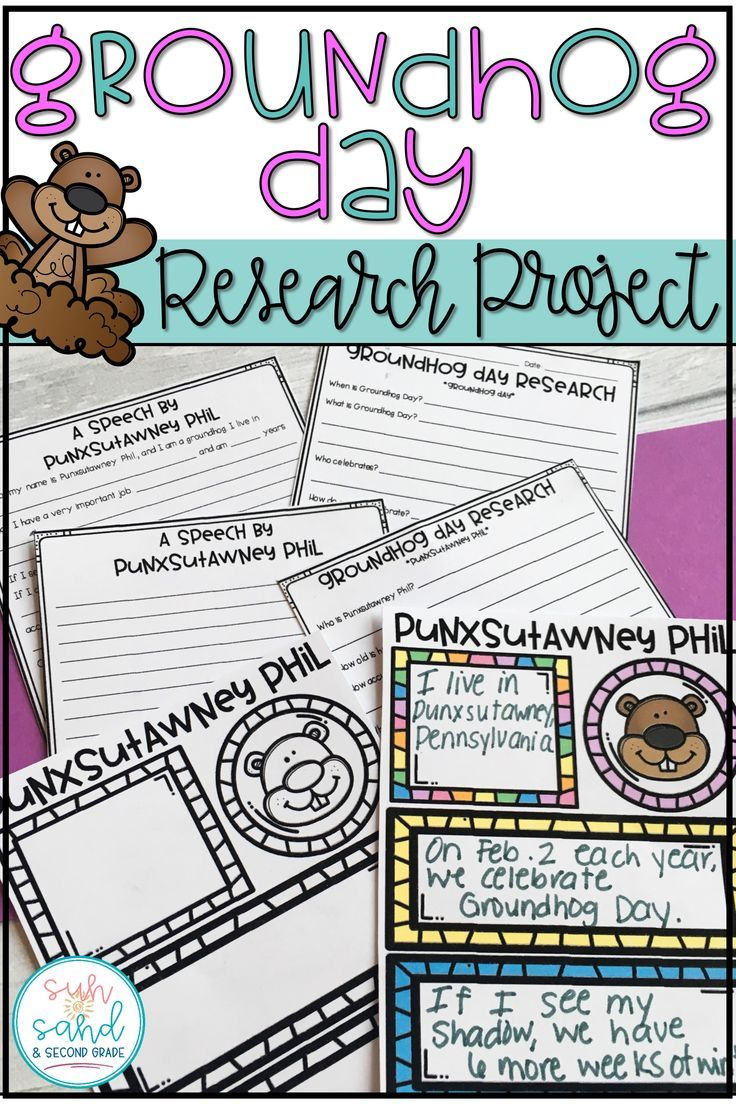 These are the perfect groundhog day activities!! Students will love researching groundhog day and Punxutawney Phil. These make great lesson plans!