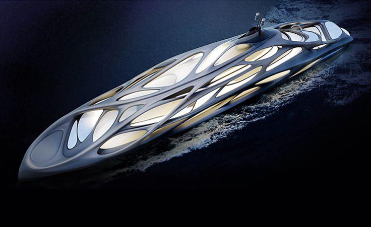 Jazz Superyacht by Zaha Hadid for Blohm+Voss