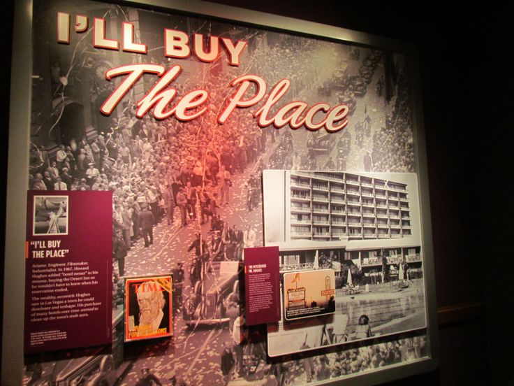The Mob Museum is a world class museum that  houses the history of Las Vegas... Cute name, but there's much more than it implies.
