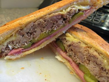 el boricua recipes | Medianoche Sandwich aka Cuban sandwich. Not sure if really Puerto Rican but awesome use for left over pernil.