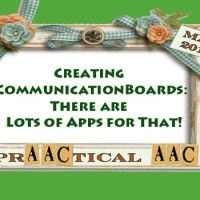 To continue on with the theme of the month, here are some app (and computer based) resources for easily creating your own communication boards: Pogo Boards Pogo Boards is a communication board creator for both the computer and the iOS platform. You can make traditional grid-based communication boards and a variety of other visual supports.…