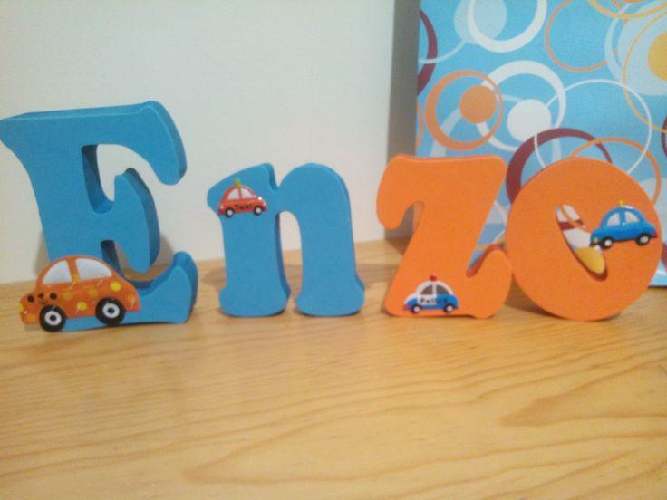 letras decorativas enzo
