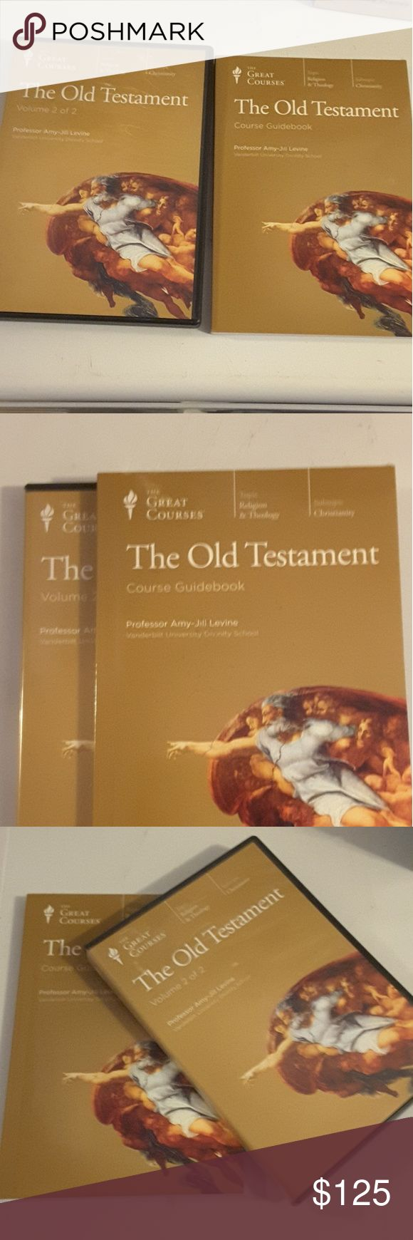 OLD TESTERMENT Course Guide Book and 12 Cds Professor Amy-Jill Levine Ph. D. Vanderbilt University Old Testament 12 CDs and Course Guide Book Other