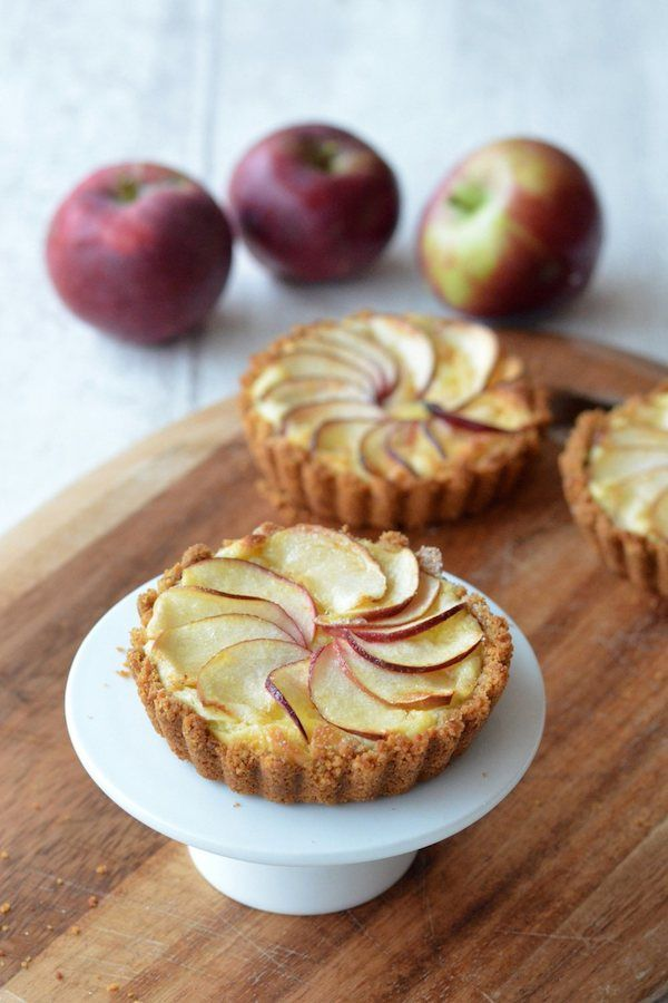 Helen Jessup gives us the answer of what to do when life gives you apples, you make gorgeous apple custard tarts.