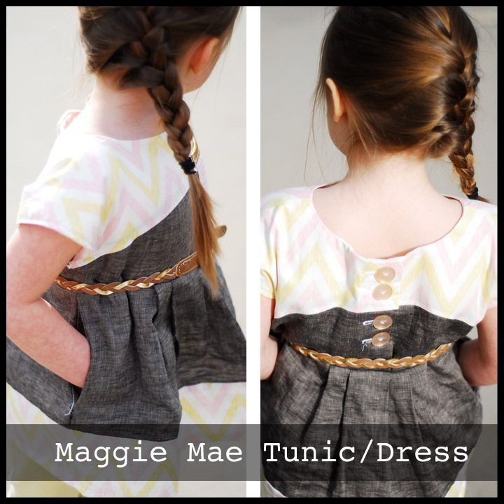 Patron pdf Shwin Design The Maggie Mae Tunic/Dress