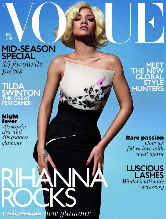 Rihanna / Vogue November 2011.