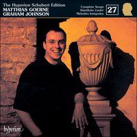 CDJ33027 - Schubert: The Hyperion Schubert Edition, Vol. 27 - Matthias Goerne - Hyperion Records