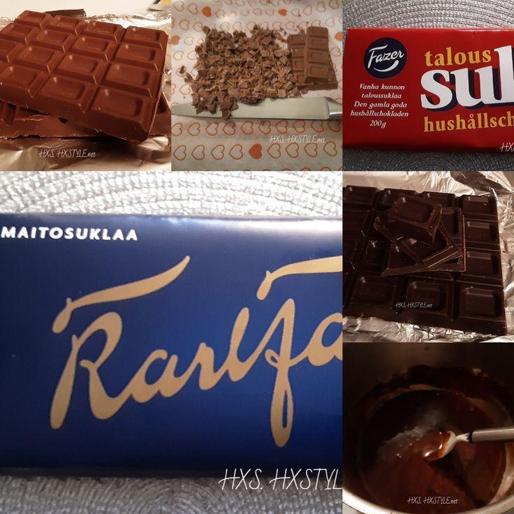 Suklaakakku Kuorrute