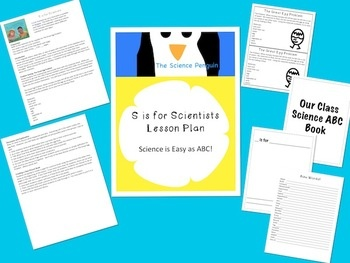 S is for Scientists Lesson Plan and Activities