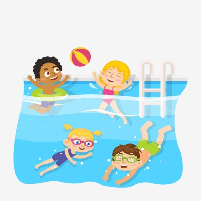 Kid Swimming Pool Children Clipart Children Swimming Learning To Swim Png And Vector With Transparent Background For Free Download Children Swimming Pool Swimming Cartoon Kids Clipart