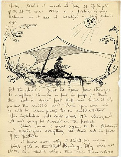 Citation: Bolton Brown to Eddie Brown, 1887 July 30. Bolton Coit Brown papers, Archives of American Art, Smithsonian Institution.