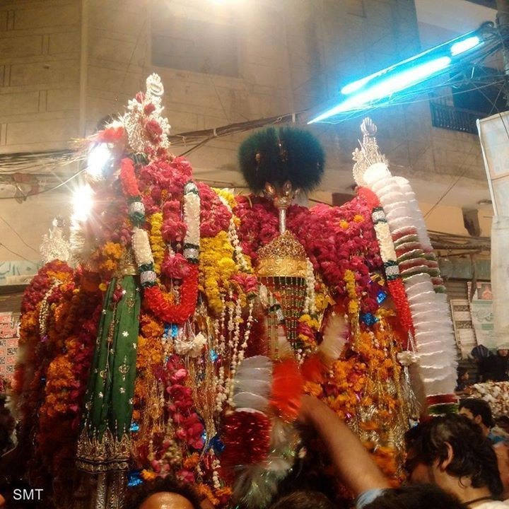 Taboot Imam Musa Kazim (A.S) - Mochi Gate Lahore  (25 Rajab 1437 / 2016 - Mochi Gate Lahore)  Photography: Uzair Akram  Shia Multimedia Team: http://ift.tt/1L35z55