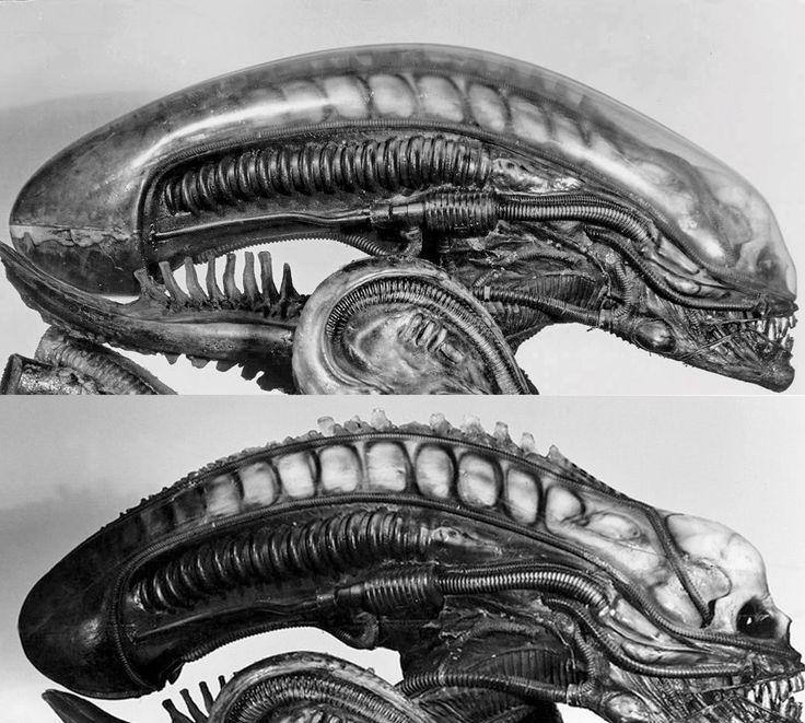 H.R Giger-Alien sketch
