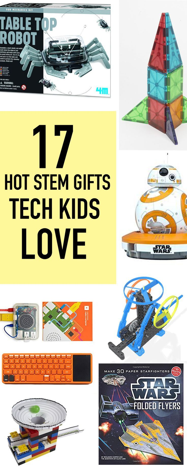 GET THE COOLEST STEM GIFTS for YOUR TECH KIDS this CHRISTMAS! Here's a list of the top selling tech toys that teach kids! 5 star rated, top-selling gifts kids adore!