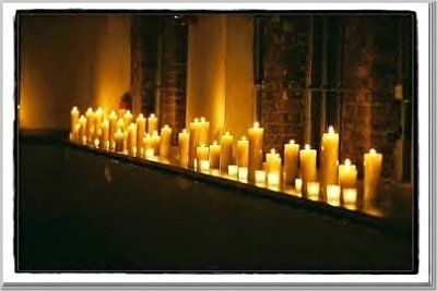 Candlelight :  wedding candles decor Z717730 47b6db03b3127cce892a560e755400000016102AYsmTZy4ZMc