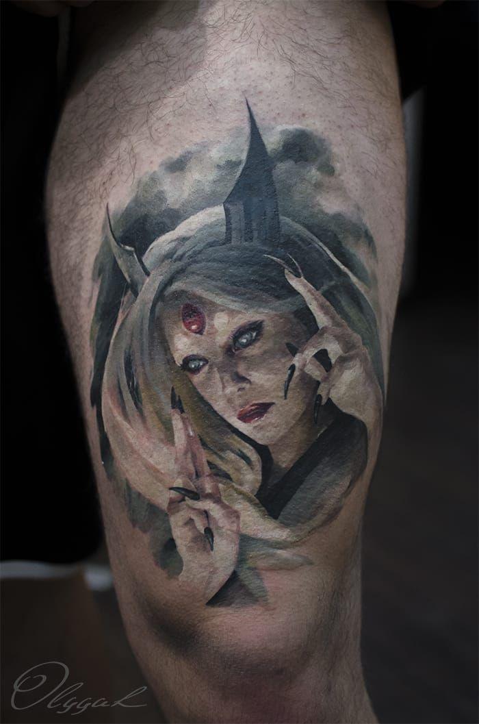 Kyuubi Tattoos Top 10 Tatuagens De Naruto Confira E Inspire Se