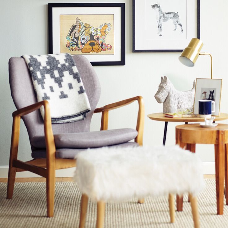 Calling all pet lovers! Incorporate some doggy décor into your home with #MyHomeSense accessories. Gallery walls only get better with the help of a few friendly faces.