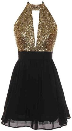 25  best ideas about Gold and black dress on Pinterest | Gold ...