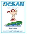 Ocean Animals Math and Literacy Fun ~ This is a great unit for getting your little ones excited about reading, writing, math and science.  This unit includes learning centers for langua...