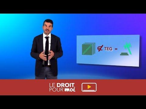 TEG erroné - Le Droit Pour Moi présente Yann Le Targat - avocat en droit des affaires - GESICA - YouTube