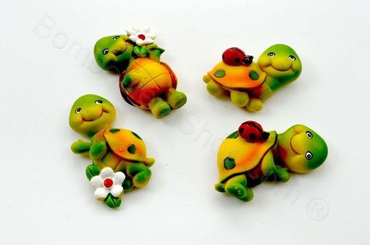 Tartaruga con magnete per il fai da te della bomboniera (JT)