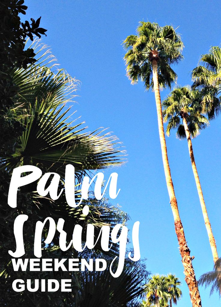 Thinking about a trip to Palm Springs? Heading to Coachella? I shared a 48 hour (or weekend) guide to this hot spot in the California desert. It's a perfect place for couples, solos, girlfriends, and festival lovers!