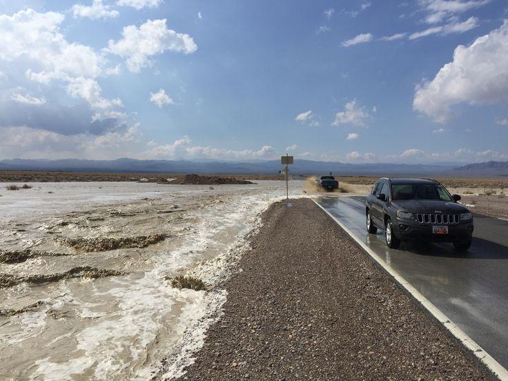 Death Valley flash floods