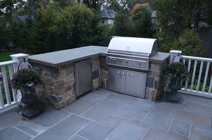 natural fieldstone bbq enclosure with 42 grill outdoor