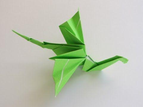 ▶ Origami Dragon - YouTube