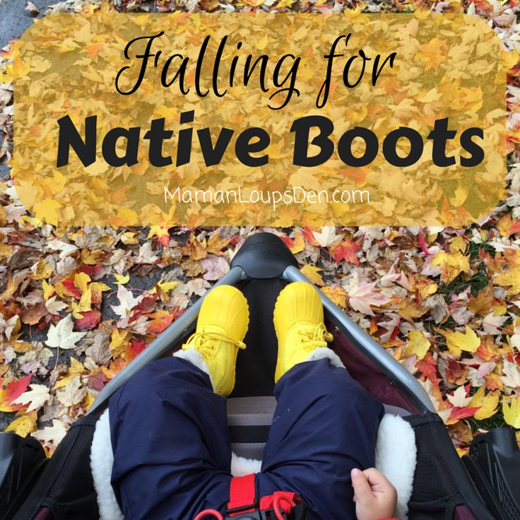 Falling for Native Boots:   Review of Native's Jimmy Winter Children's Boots